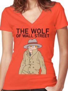 Vincent Adultman Women's Fitted V-Neck T-Shirt