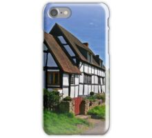 Chocolate Box Cottage (Vignetting Version) iPhone Case/Skin
