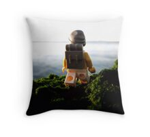 Pirate walkabout Throw Pillow