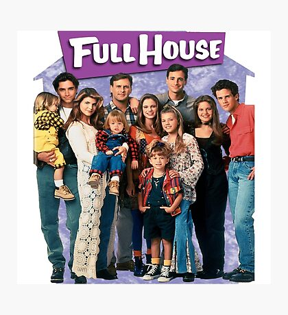 Full House America US Photographic Print