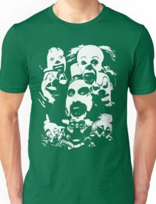 Horror Clown Icons Unisex T-Shirt