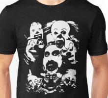 Horror Clown Icons Unisex T-Shirt