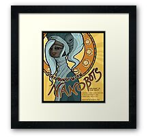 Stay Young With Nanobots! Framed Print