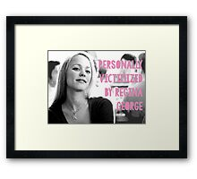 Personally Victimized Framed Print