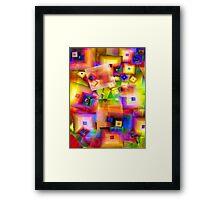 Colorful-22 Framed Print