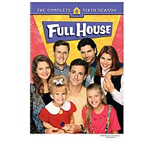 Full House America US Popular Photographic Print