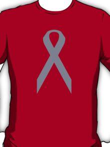 Brain Cancer Awareness ribbon T-Shirt