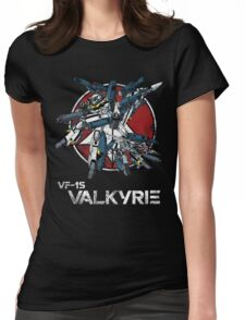 Vintage Skull Squadron Womens Fitted T-Shirt