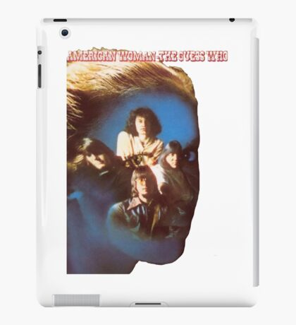 The Guess Who Carl Dixon Bachman Cummings 5 iPad Case/Skin
