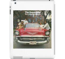 The Guess Who Carl Dixon Bachman Cummings 7 iPad Case/Skin
