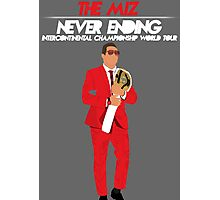 The Miz - Never Ending Intercontinental Championship World Tour Photographic Print