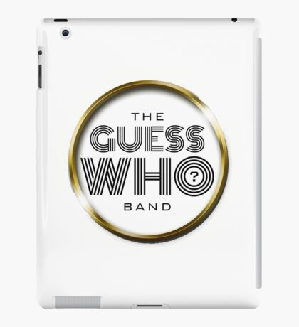 The Guess Who Carl Dixon Bachman Cummings 9 iPad Case/Skin