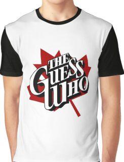 The Guess Who Carl Dixon Bachman Cummings 10 Graphic T-Shirt