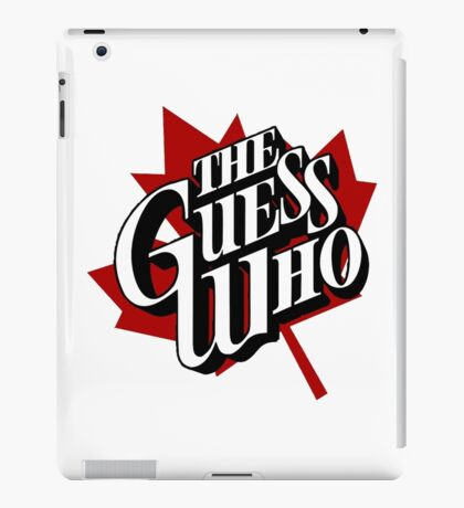 The Guess Who Carl Dixon Bachman Cummings 10 iPad Case/Skin
