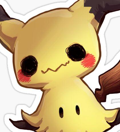 Chubby Mimikyu Sticker