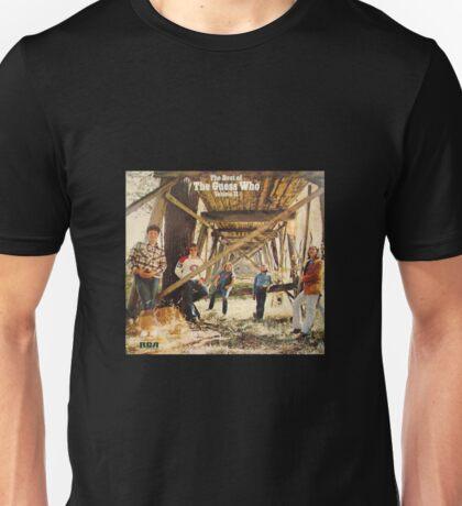 The Guess Who Carl Dixon Bachman Cummings 11 Unisex T-Shirt