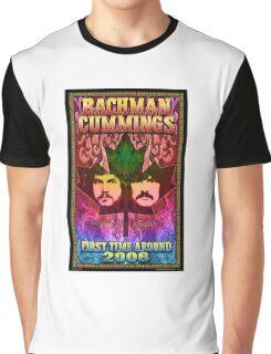 The Guess Who Carl Dixon Bachman Cummings 12 Graphic T-Shirt