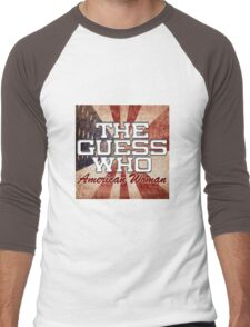 The Guess Who Carl Dixon Bachman Cummings 15 Men's Baseball ¾ T-Shirt