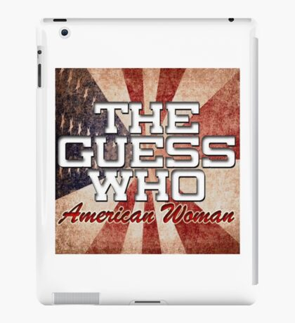 The Guess Who Carl Dixon Bachman Cummings 15 iPad Case/Skin