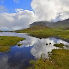 The Lake District: Tarn Reflections on Scafell by Rob Parsons