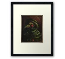 Dr.Morrable: Demon Death Doctor Framed Print