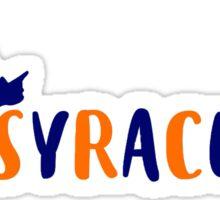 SYRACUSE UNIVERSITY Syracutie otto Sticker