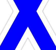 Colon Cancer Awareness ribbon Sticker