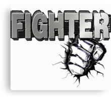 Fist Fighter Canvas Print