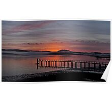 Sunrise Tomales Bay, CA, 2009 Poster