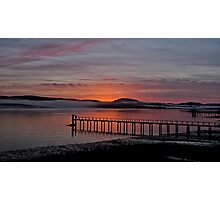 Sunrise Tomales Bay, CA, 2009 Photographic Print