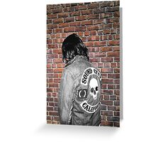 Sound City Jacket Greeting Card