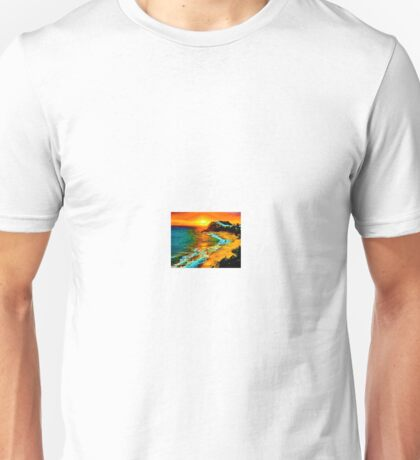carribean. sunset Unisex T-Shirt