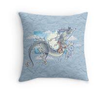 Dream Messenger Dragon Throw Pillow