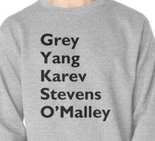 Grey, Yang, Karev, Stevens, O'maley Without & - Black Pullover