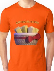 Basket of Exotic Butters Unisex T-Shirt