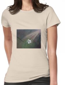 The Loneliest Flower Womens Fitted T-Shirt
