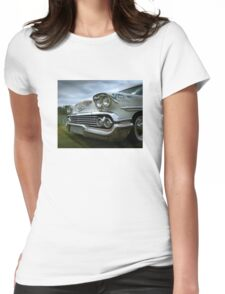 1958 Chevy Brookwood Womens Fitted T-Shirt