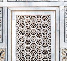 Marble screen window at the Baby Tomb Sticker