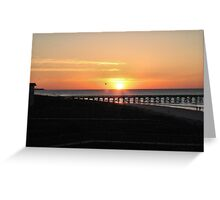 Perfect Sunset Greeting Card