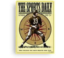 The Sports Daily Canvas Print