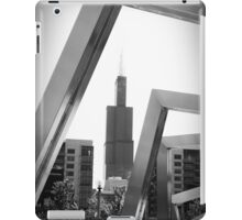 Sears Tower Through A Sculpture Chicago iPad Case/Skin