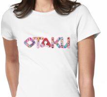 OTAKU - girl anime fan (pink) Womens Fitted T-Shirt