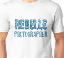 Rebelle Photographer Unisex T-Shirt