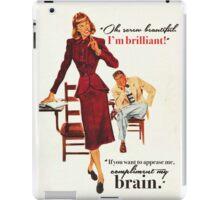 Brains & Beauty iPad Case/Skin