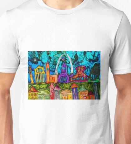 St. Louis Row Unisex T-Shirt