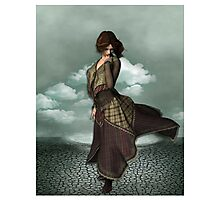 Fantasy Girl Warrior Photographic Print