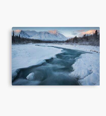 Quill Creek, Yukon Canvas Print