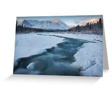 Quill Creek, Yukon Greeting Card