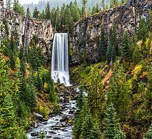 Tumalo Falls by Richard Bozarth