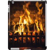 Fire iPad Case/Skin